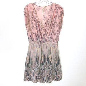 100% silk Anthropologie Petticoat Alley Dress